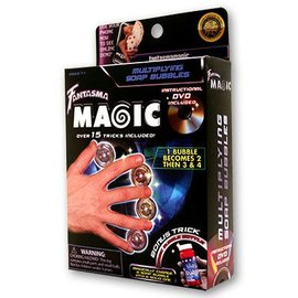 Multiplying Soap Bubbles w/DVD by Magick Balay from Fantasma Toys (M9)