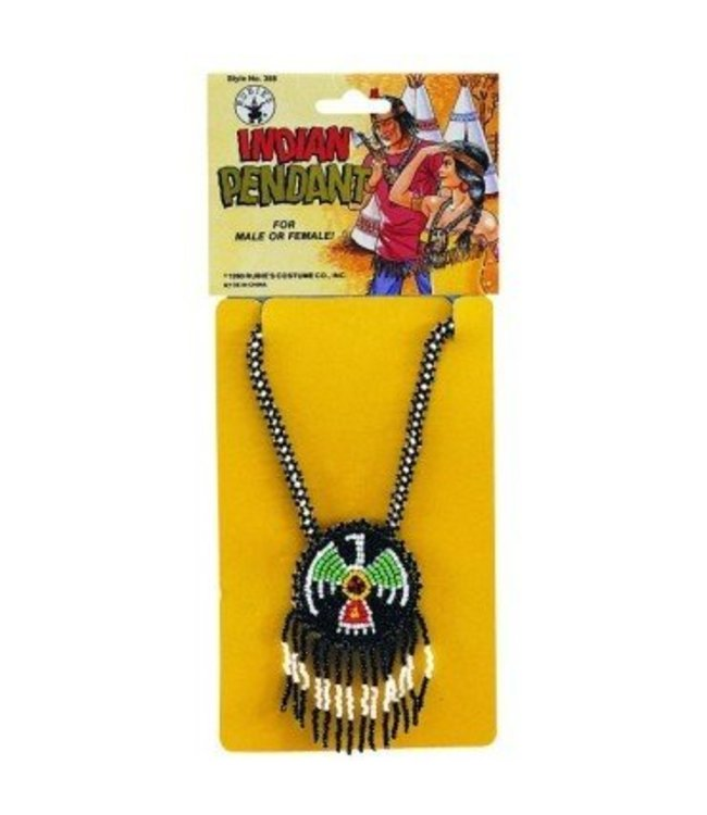 Rubies Costume Company Native American Indian Pendant