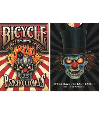 Bicycle Psycho Clowns Playing Cards - Limited Edition By Brotherhood Of Highway