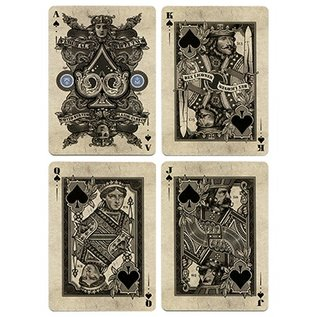 Bicycle Silver Certificate Deck by Gambler's Warehouse and King's Wild Project
