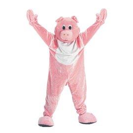 Dress Up America Mascot Pig - Adult