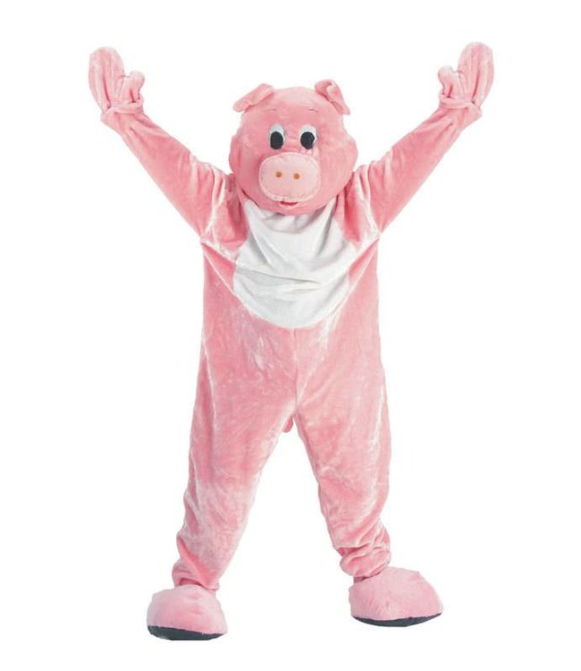 Dress Up America Mascot Pig - Adult