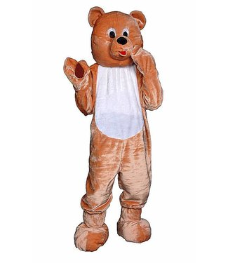 Dress Up America Teddy Bear Mascot - Adult