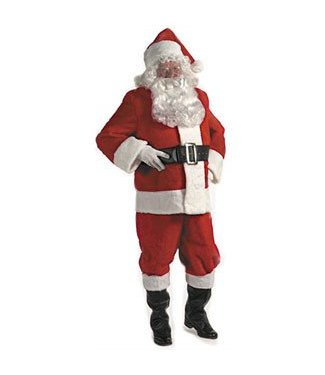 Halco Quality Plush Santa Suit - 5598 - 58-62