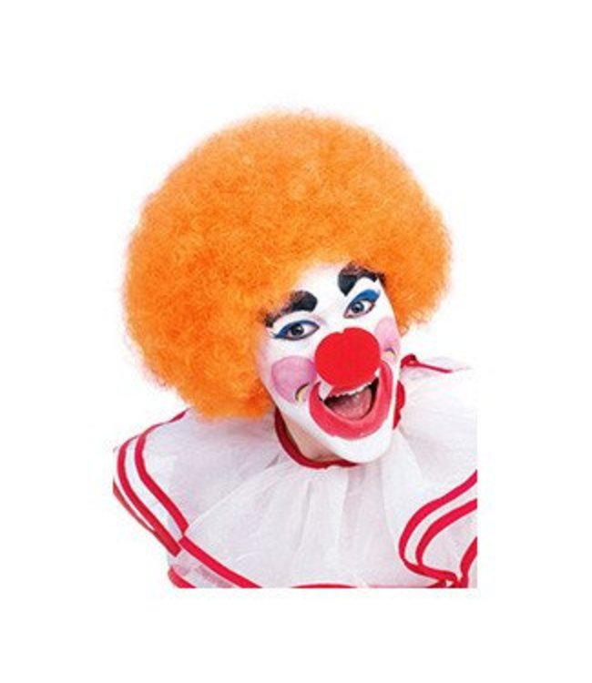 Forum Novelties Orange Clown Afro Wig