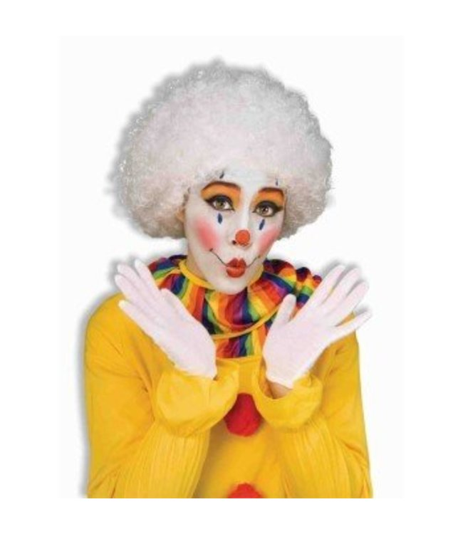 Forum Novelties White Afro Wig