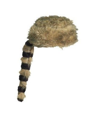 Forum Novelties Raccoon Hat / Coonskin Cap by Forum Novelties