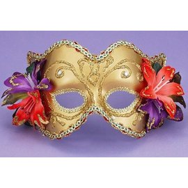 Forum Novelties Venetian Style Mask - Tropical Flowers MK-047