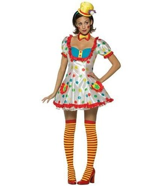 Rasta Imposta Clown costume Female - Adult One Size