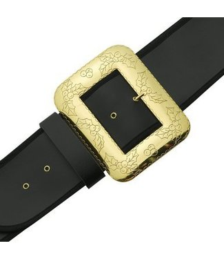 Halco Santa Belt With Decorative Cast Buckle