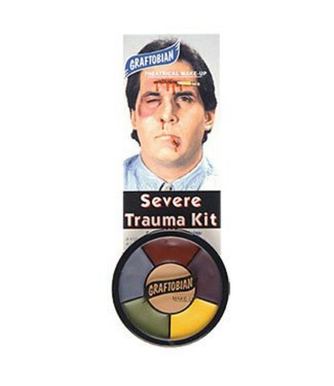 Graftobian Make-Up Company Severe Trauma - Make-up Wheel (C3)