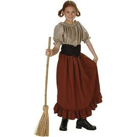 RG Costumes And Accessories Peasant Girl Child Small 4-6 Renaissance Peasant
