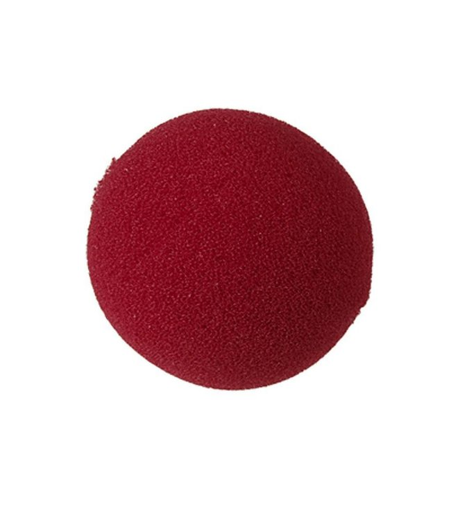 Red Sponge Clown Nose 1 inch by Magic By Gosh