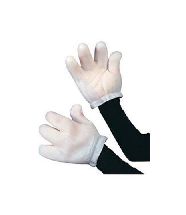 Rubies Costume Company Vinyl Cartoon Animal,Mouse Gloves - Adult