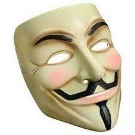 Rubies Costume Company V For Vendetta Mask