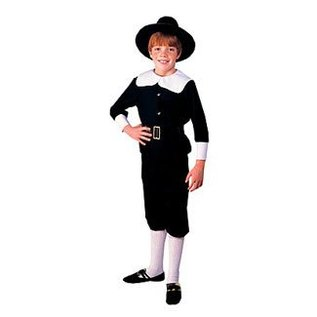 Rubies Costume Company Pilgrim Boy - Medium 8-10