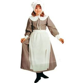 Rubies Costume Company Pilgrim Girl - Child 8-10