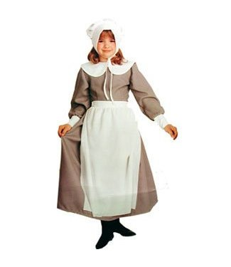 Rubies Costume Company Pilgrim Girl Child 8-10 by Rubies Costume Company