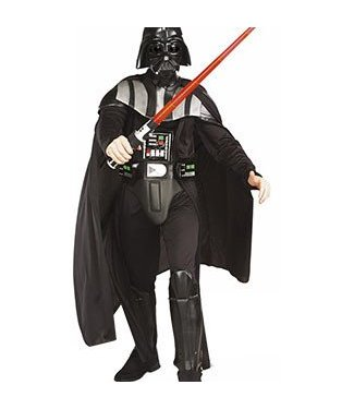 Rubies Costume Company Darth Vader Adult Extra Large 44-46