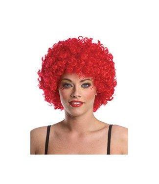 Forum Novelties Red Clown Afro Wig