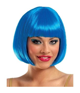 Costume Culture by Franco American Sassy Bright Blue - Wig