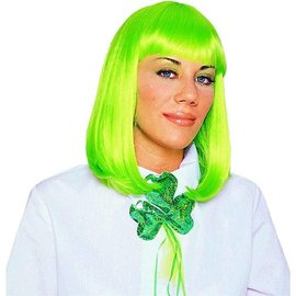 Costume Culture by Franco American Peggy Sue Wig - Neon green