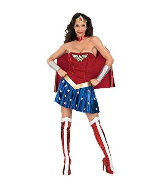 Rubies Costume Company Wonder Woman, Dress - Small 2-6