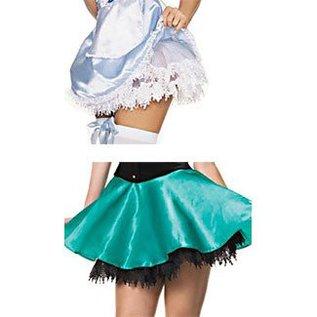 Leg Avenue Teardrop Lace Petticoat - Leg Avenue White