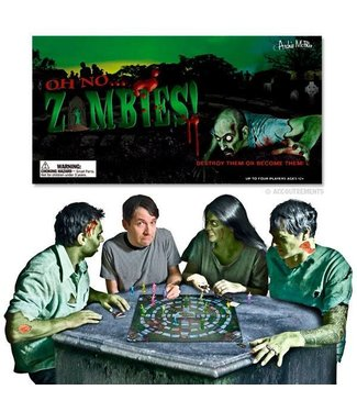 Oh No... Zombies! Board Game by Accoutrements