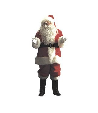 Halco Elite Plush Santa Suit 50-56