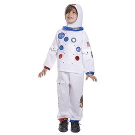 Dress Up America Tot/Child NASA Astronaut Medium  8-10