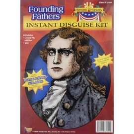 Forum Novelties Founding Fathers Kit, Thomas Jefferson  - Colonial Heroes In History