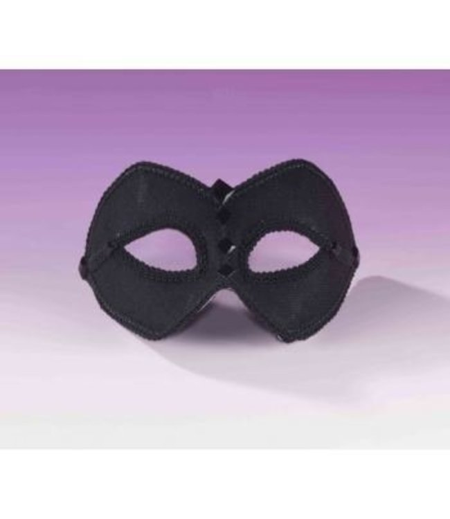 Forum Novelties Venetian Mask, Black-  SRF012