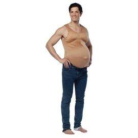 Rasta Imposta Pregnant Belly - Adult One Size