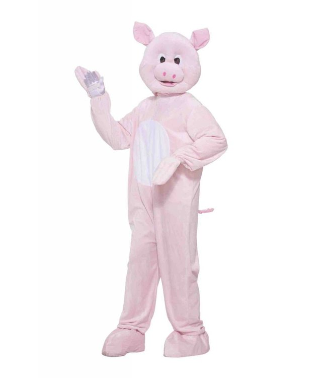 Forum Novelties Plush Pinky The Pig - Adult Standard up to a 42