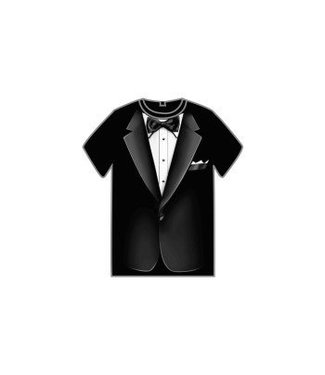 Forum Novelties Tuxedo T-Shirt, Adult - Large by Forum Novelties