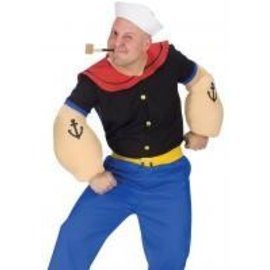 Fun World Popeye The Sailor Man - Adult One Size
