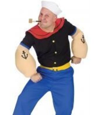 Fun World Popeye The Sailor Man - Adult One Size