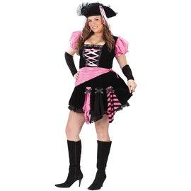 Fun World Pink Punk Pirate - Plus Size