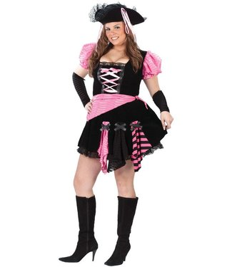 Fun World Pink Punk Pirate - Plus Size