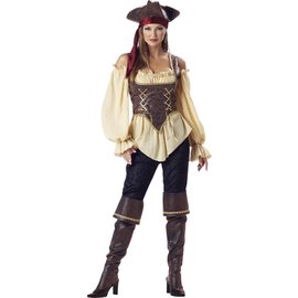 InCharacter Rustic Pirate Lady Adult Small Costume by Incharacter