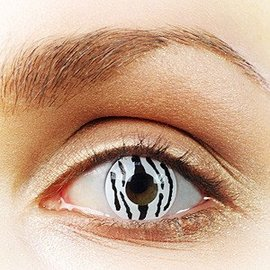 Fine And Clear Zebra Contact Lenses