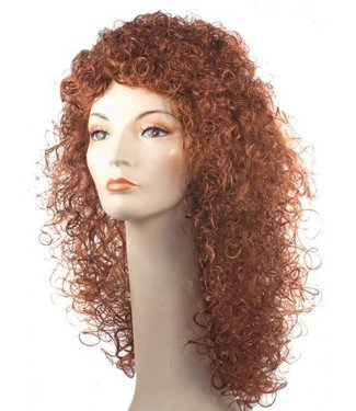Morris Costumes and Lacey Fashions Plabo Auburn Wig