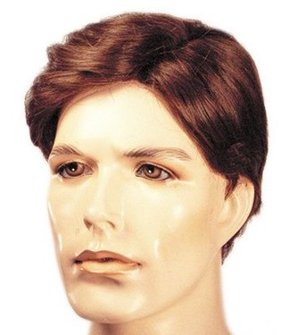 Morris Costumes and Lacey Fashions Sidepart Men's Wig Light Golden Brown