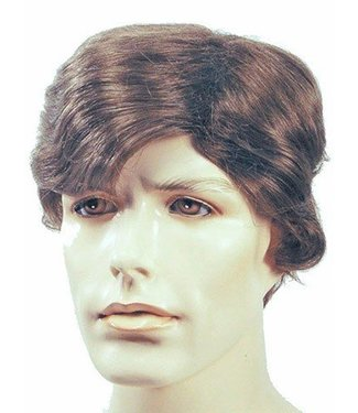Morris Costumes and Lacey Fashions Sidepart Men's, Salt and Pepper Wig