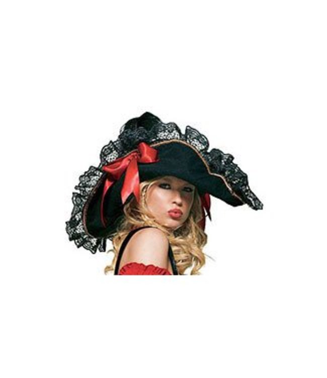 Leg Avenue Swashbuckler Pirate Hat - Female (327)