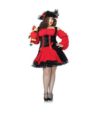 Leg Avenue Vixen Pirate Wench Plus Size 1x-2x