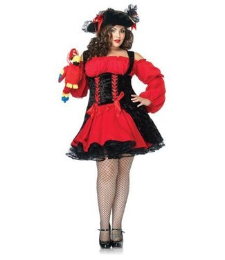 Leg Avenue Vixen Pirate Wench Plus Size 3x/4x