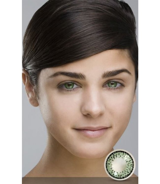 Fine And Clear Sea Green Contact Lenses (C2)