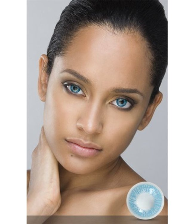 Fine And Clear True Sapphire Contact Lenses (C2)